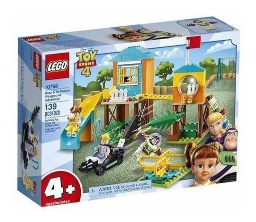 Brinquedo Lego Toy Story - Aventura No Recreio Do Buzz E Bet