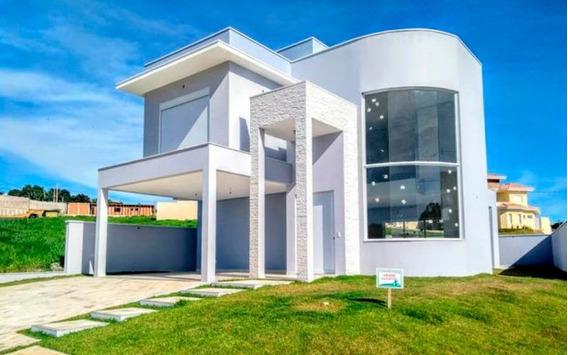 Casa Nova À Venda Em Condomínio Em Valinhos - Ca00376 - 32557287