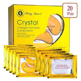 Party Queen 24k Gold Under Eye Bags Treatment Masks Collagen