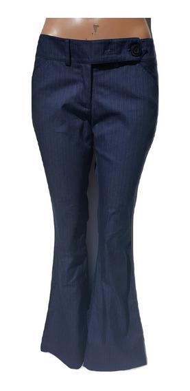 Pantalon Oxford Rayado A Rayas Formal Oficina Zozulka