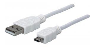 Cable Usb Version 2.0 A-micro B 1.8m Blanco