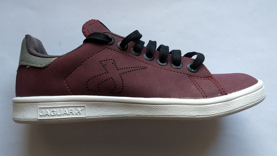 Zapatillas Unisex Jaguar Urbanas Bordo Art. 4100