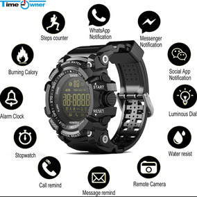 Relógio Multifunções Lokmat Ex16 Militar G-shock Promoção