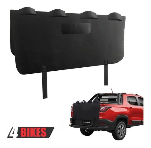 Truckpad Transbike Suporte Para 4 Bikes Fiat Toro