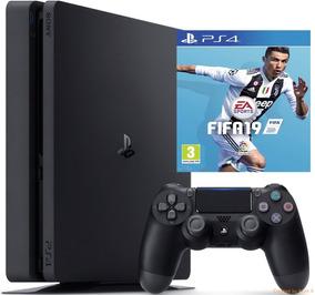 Playstation 4 Ps4 Slim 1tb+ Fifa 19 (fisico) // Huamansales