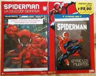Spiderman La Colección Definitiva Nº 1 Libro + Póster Nuevo