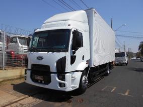 Cargo 1517 2012 Branco Impecável Baúchapeado Itáliacaminhões