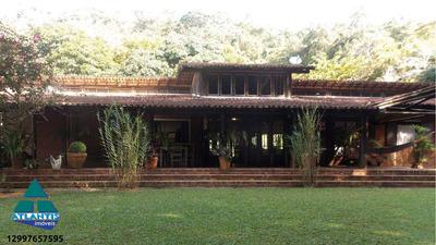 Casa Com 6 Dorms, Praia Do Pulso, Ubatuba - R$ 2.100.000,00, Codigo: 1009 - V1009