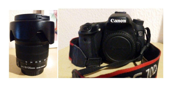 Camera Cannon 70d
