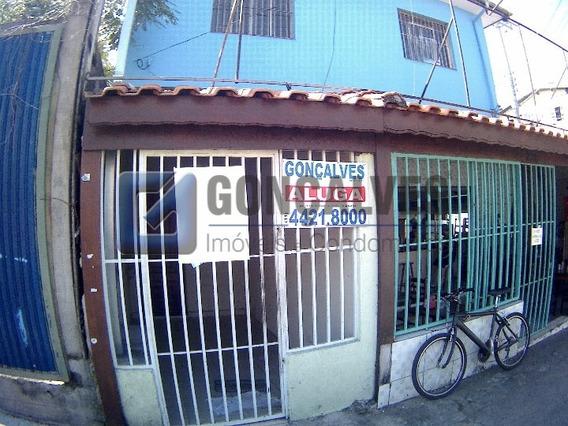 Locação Casa Terrea Santo Andre Campestre Ref: 35989 - 1033-2-35989