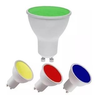 Lampara Dicroica Led Colores 7w Color Haz De Luz Abierto 630 Lumenes Garantia 2 Años X Defectos Fabricacion !!!!