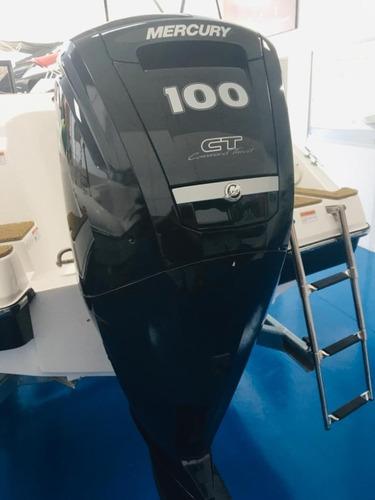 Motor Mercury 100hp Ct, Yamaha,semi Novo