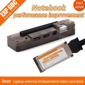 Adaptador Egpu Para Placa De Vídeo Notebook Expres Card V8.5