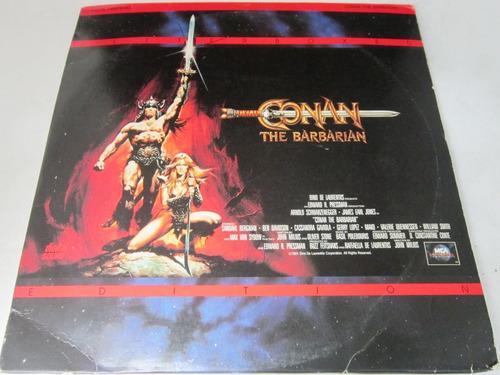 Arnold Scharzenegger - Conan The Barbarian Ld