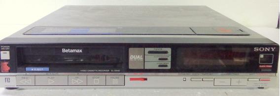 Sony Betamax Sl-30md Vídeo Cassete Não Funciona