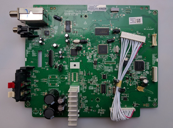 Placa Principal Do Som Lg Cm4430 - Eax64991603 - Ebr76323008