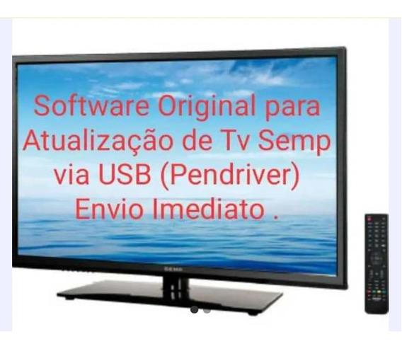 Atualização Tv Led Sti Semp Toshiba Dl3253-dl3253(a)w
