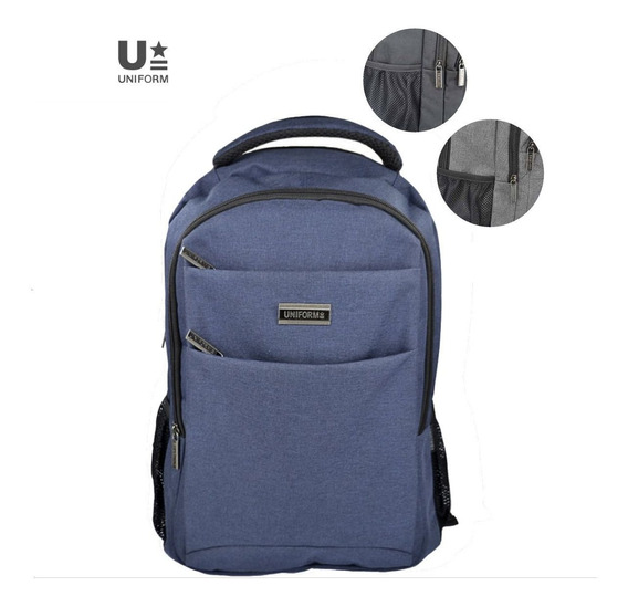 Mochila Portanotebook 18 PuLG. Uniform Art. 13002 Poliester