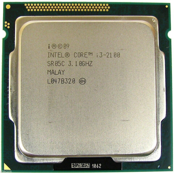 Processador Intel Core I3 2100