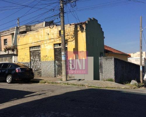 Terreno À Venda, 200 M² Por R$ 550.000 - Parque Das Nações - Santo André/sp - Te0192