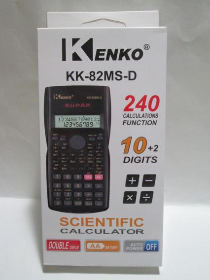 Calculadora Cientifica Kenko-kk-82ms-d-240 Funciones+pilas