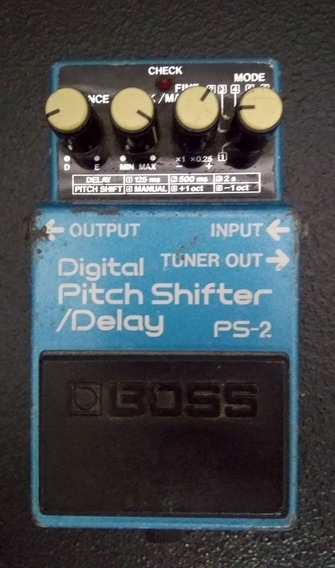 Pedal Picht Shifter Delay Ps2 Boss Roland