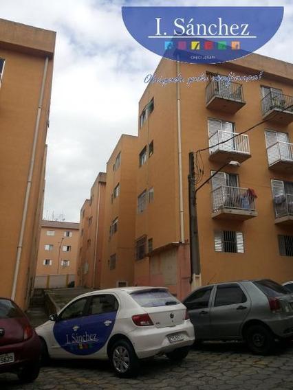 Apartamento Para Venda Em Itaquaquecetuba, Jardim Aracaré, 2 Dormitórios, 1 Banheiro, 1 Vaga - 181112d