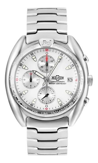 Relógio Masculino Magnum Ma30212q Aço