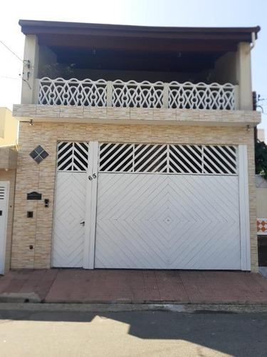 Sobrado Com 3 Dormitórios À Venda, 305 M² - Paulicéia - São Bernardo Do Campo/sp - So20380