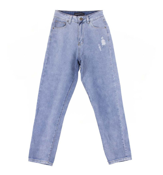 Jean Rc G Mom Light Blue 01245 Mujer 0124530