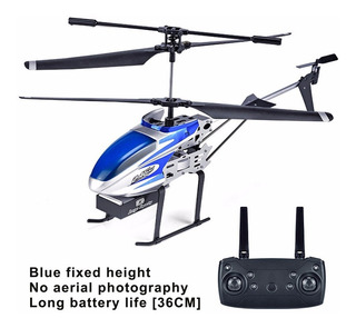 4ch 2.4ghz Rc Helicóptero Controle Remoto Azul