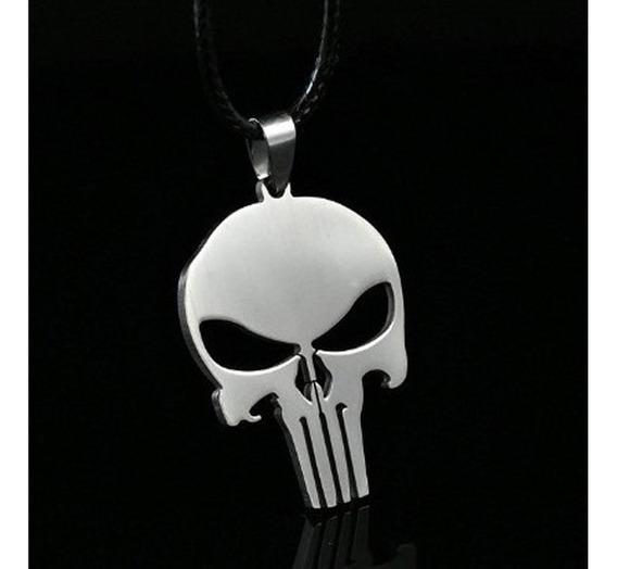 Marvel Comics - Punisher Calavera Collar Dije