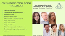 Psicólogo - Psicoterapia Integral En Lince