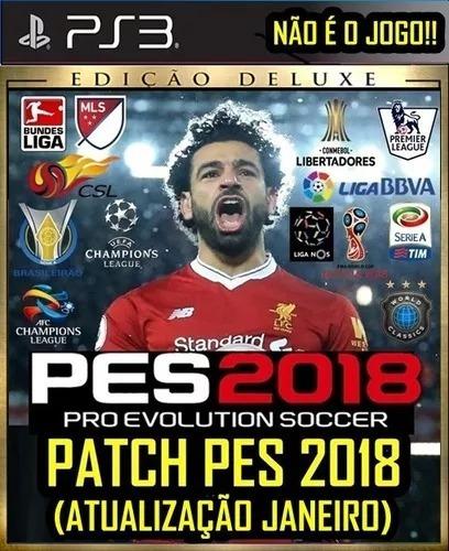 Patch Pes 18 Ps3 (atualização Janeiro) Brasileirão 2019 19