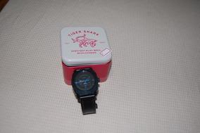 Relógio Fossil Modelo Fs 5361 Azul Na Caixa.