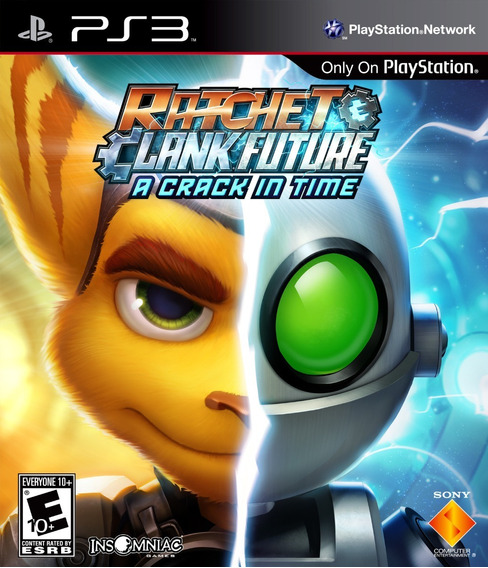 Jogo Ratchet Clank Future Crack In Time Mídia Física Ps3