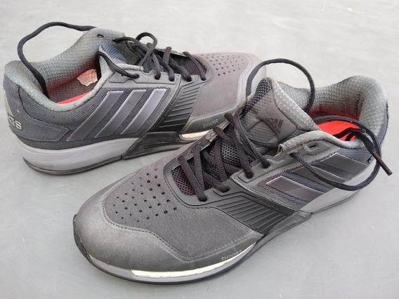 Tênis adidas Crazytrain Boost Cinza Crossfit Funcional 42.5