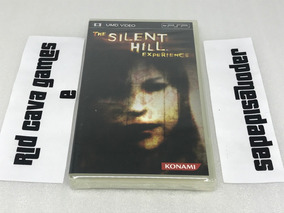 Silent Hill Experience Psp - Mídia Física - Novo E Lacrado