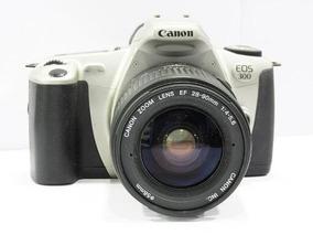 Câmera Canon Eos 300 - Analógica + Lente 28-90mm