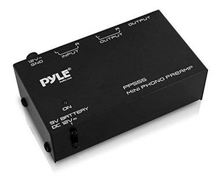 Pyle Pp555 ultra Compacta Phono Turntable Preamplificador Co