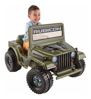 Power Wheels Montable Jeep Wrangler Rubicon