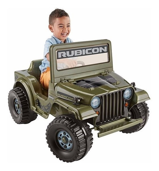 Power Wheels Montable Jeep Wrangler Rubicon