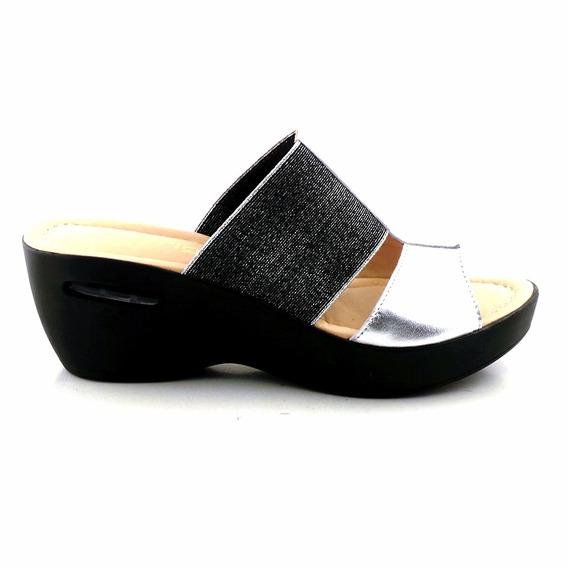 Sandalia Charol Mujer Zueco Briganti Zapato Promo Mcsu48016