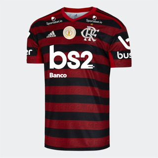 Camisa Flamengo 2019/20+novos Patrocinadores+pacht Brasileir