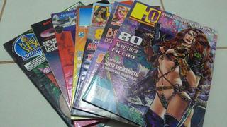 Lote 7 Revistas: Hq Revista Do Quadrinho Brasileiro + Outras