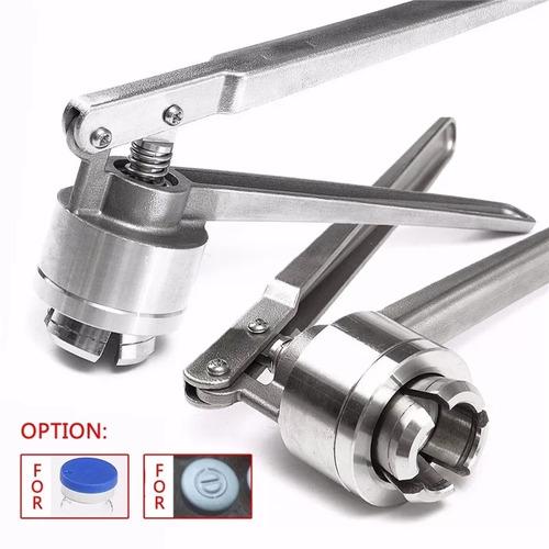 Crimper - Sellador Vial -tapa De Aluminio Y Plastico - 20mm