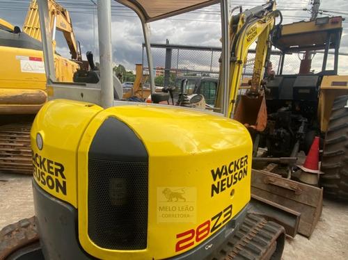 Mini Escavadeira Wacker Neuson 28z3 - Ano 2013
