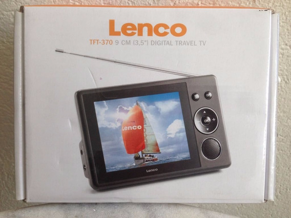 Tv Lenco 9cm Digital Travel Tv