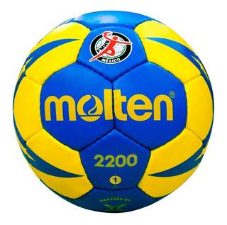 Kit 3 Balones Handball Molten Mod. 2200 N.1 + 4 N.2