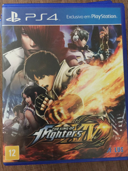 Jogo The King Of Fighters Xiv Ps4 Usado Port. Mídia Fisica